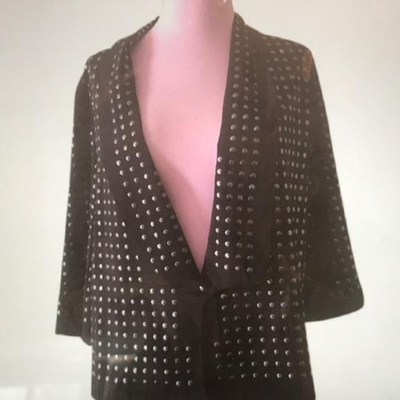 Blaque Label Jackets & Blazers - Blaque jacket with studs